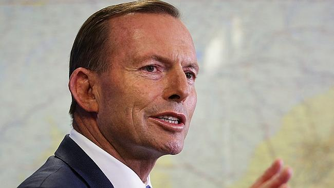 The Prime Minister Tony Abbott