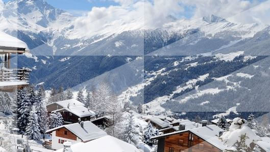 Free thrilling helicopter ride and piste picnic