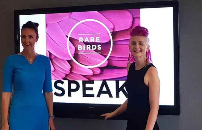 Women-only startup Rare Birds Speak