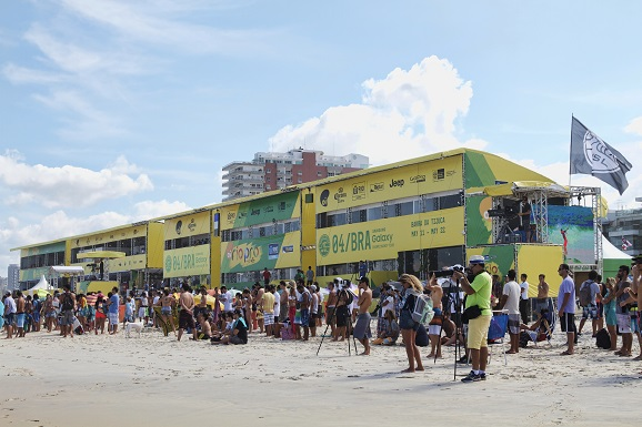The Oi Rio Pro, the latest stop on the 2015 Samsung Galaxy WSL Championship Tour, readies for the world's best surfers.