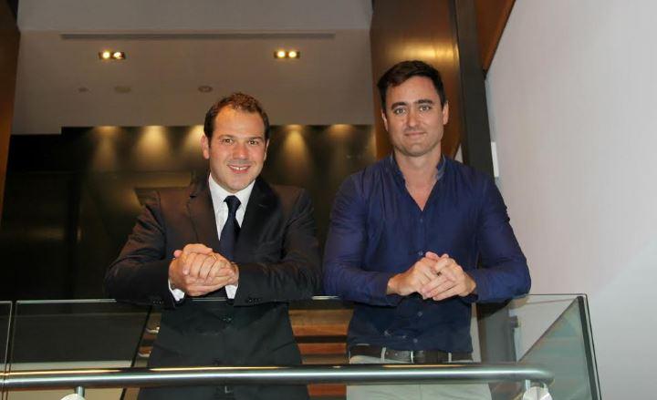LiveHire co-founders Antonluigi Gigi Gozzi and Michael Haywood