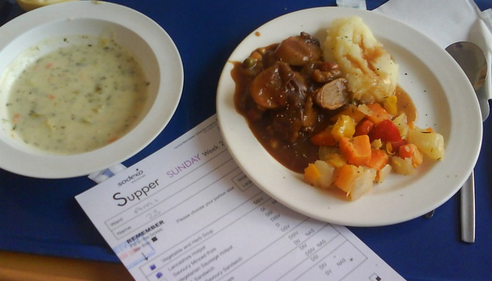 Hospital food will never win Michelin stars but it could look and taste better